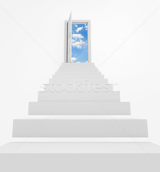 Stairway to heaven Stock photo © goir