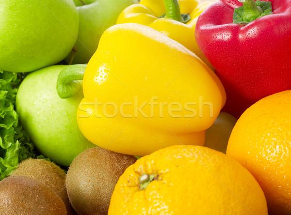 Vruchten plantaardige vruchten markt salade Stockfoto © goir