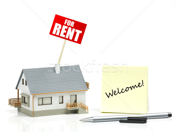 House for rent Stock photo © goir