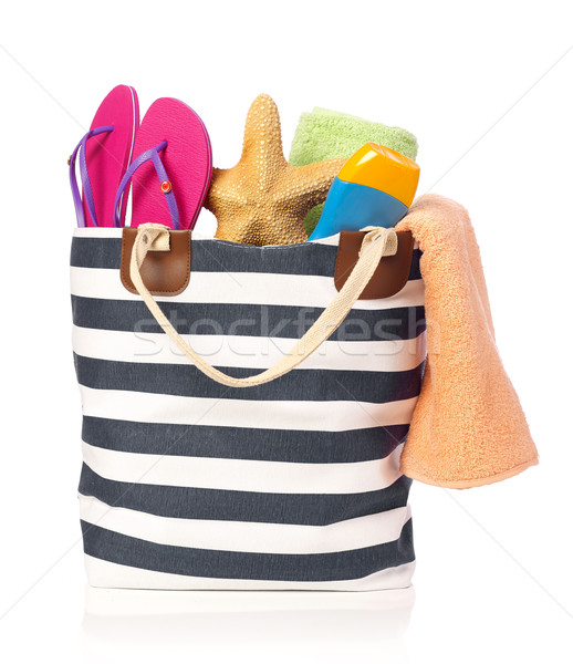 Beach bag Stock photo © goir