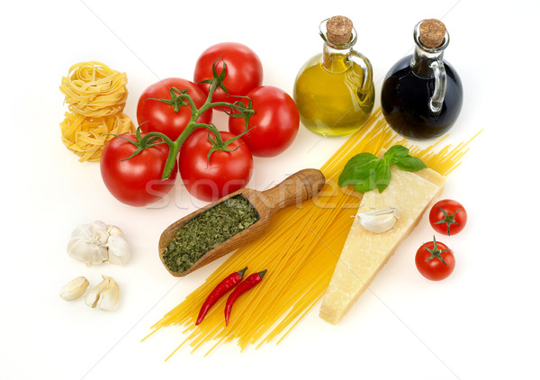 Fresh ingredients Stock photo © goir