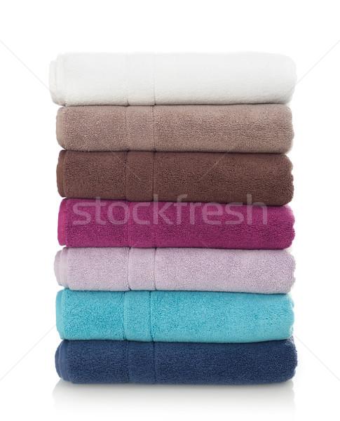 Multi-colored towels Stock photo © goir