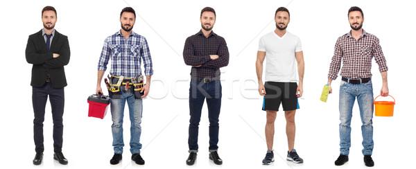 Tutti tipo uomini uomo diverso Foto d'archivio © goir