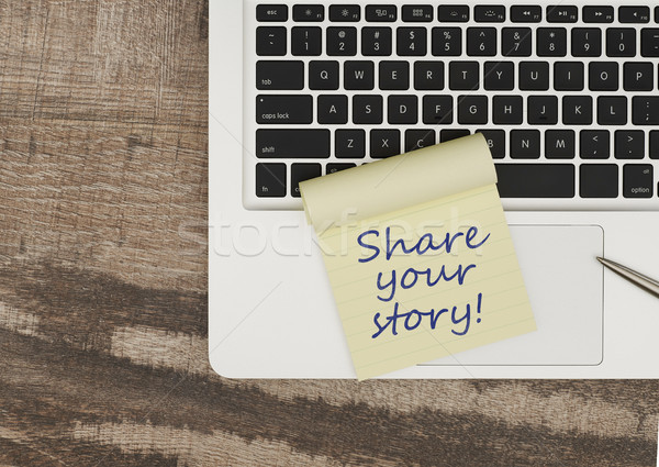 Share your story Stock photo © goir