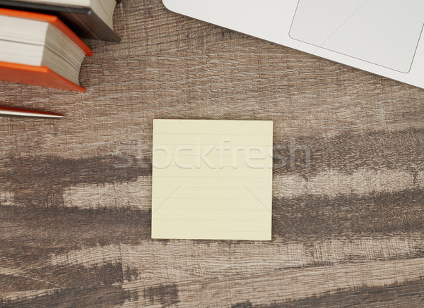 Blank adhesive note Stock photo © goir