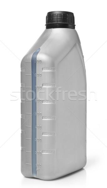 Pétrolières bouteille isolé blanche contenant essence Photo stock © goir