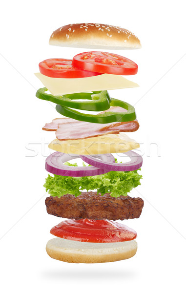 Burger Stock photo © goir