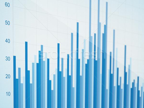Negócio evolução gráfico tecnologia financiar sucesso Foto stock © goir
