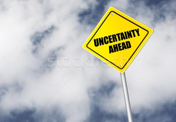 不確実性 にログイン 空 自然 雲 ストックフォト © goir