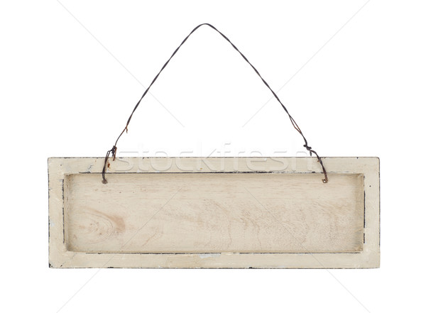 Wooden placard Stock photo © goir