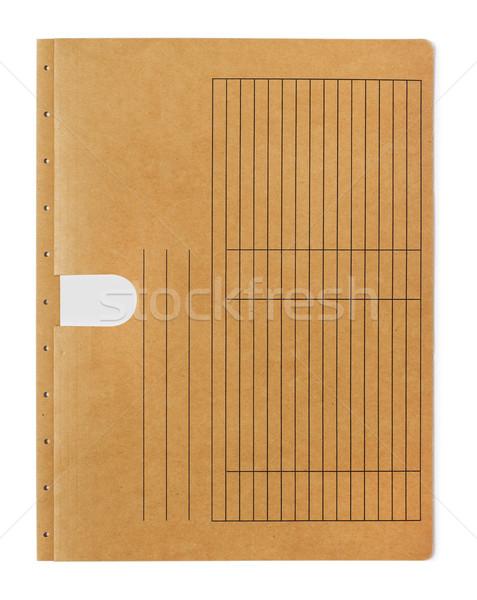 Arquivo dobrador Manila branco negócio papel Foto stock © goir
