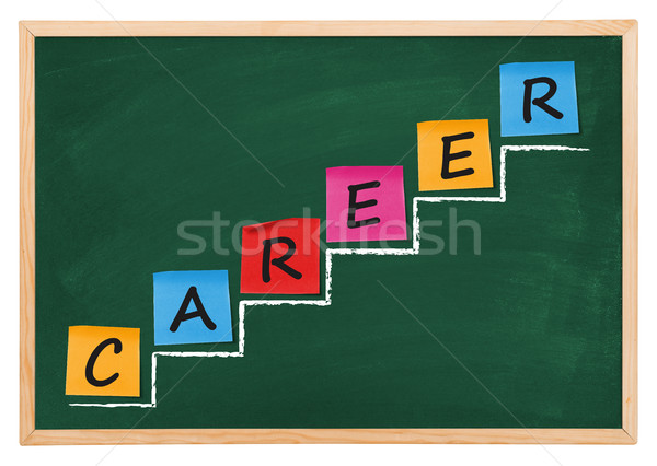 Career diagram Stock photo © goir