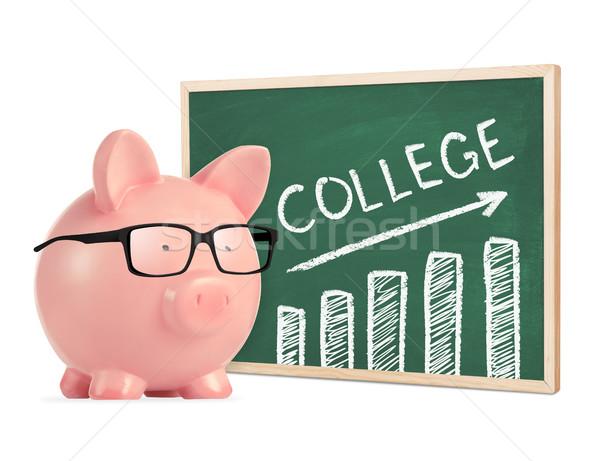 Saving for college concept Stock photo © goir