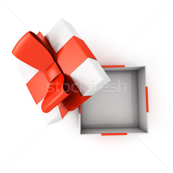 Open present box Stock photo © goir