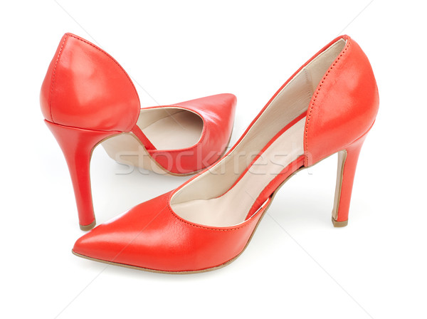 Woman's dress shoes Stock photo © goir