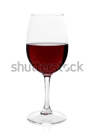 Red wine glass Stock photo © goir