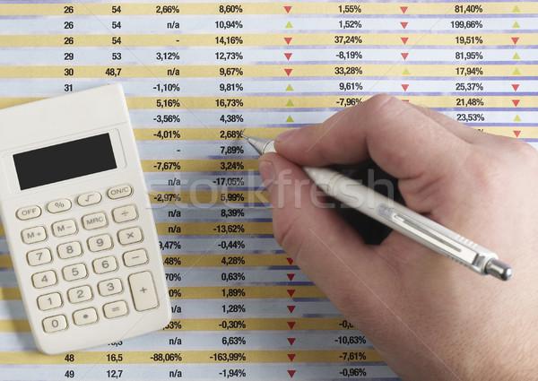 Financial report Stock photo © goir