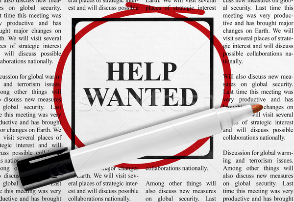 Help wanted Stock photo © goir