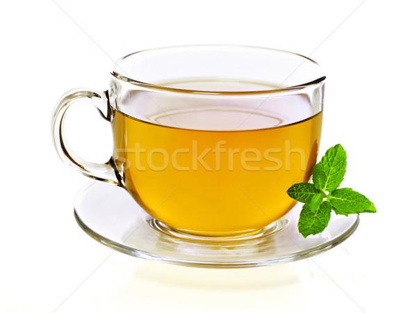 Сток-фото: Кубок · чай · изолированный · белый · кружка