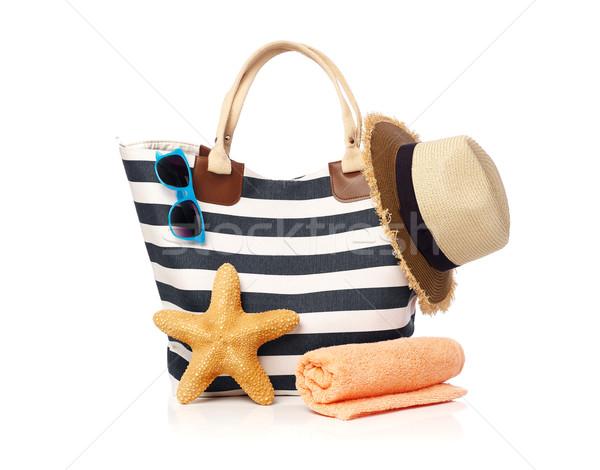 Beach bag concept Stock photo © goir