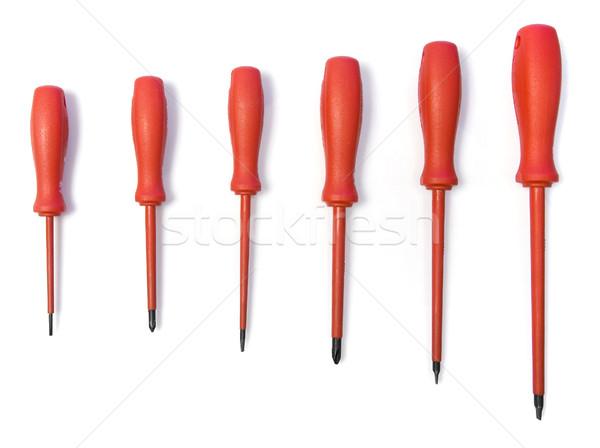 Red screwdrivers Stock photo © goir