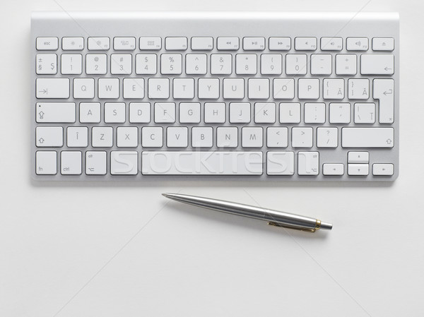 пер компьютер технологий таблице Сток-фото © goir