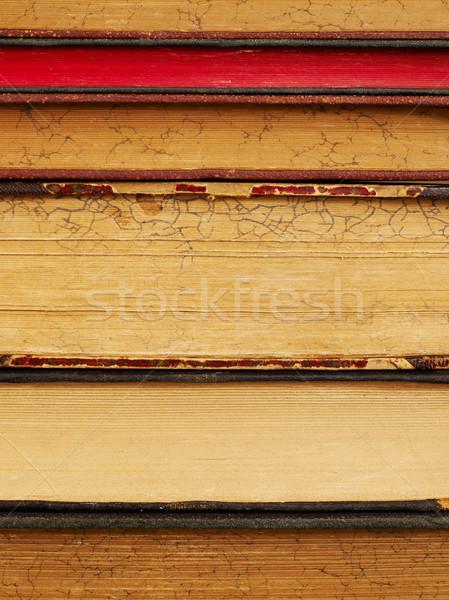 古い 図書 クローズアップ 図書 写真 ストックフォト © goir