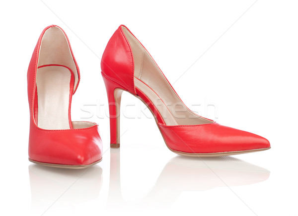 Red high heels Stock photo © goir