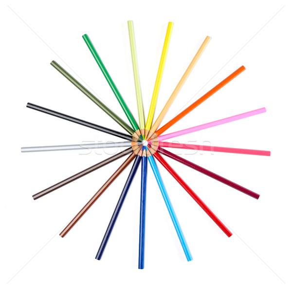 鉛筆 デザイン 白 木材 鉛筆 ストックフォト © goir