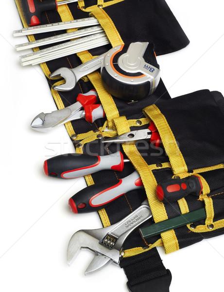Tool belt close-up Stock photo © goir