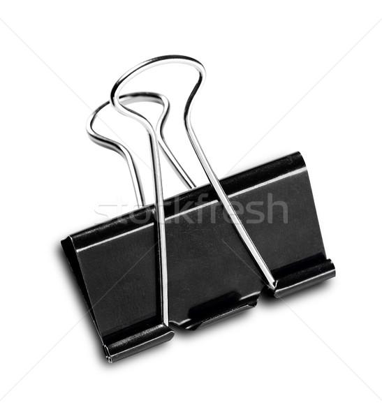 Paperclip geïsoleerd witte business fotografie clip Stockfoto © goir