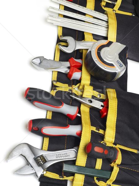 Szerszámok izolált fehér hangszer gyártás felszerlés Stock fotó © goir