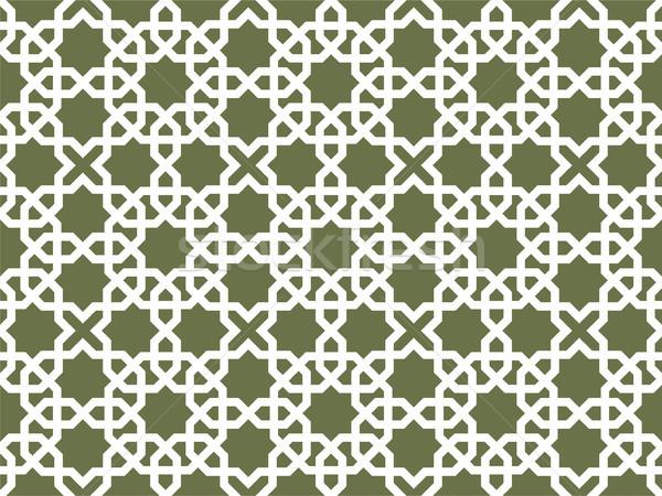 Arabic pattern background - seamless  Persian ornament  Stock photo © gomixer