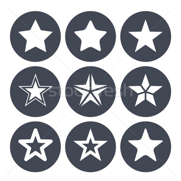 単純な 星 バー ストックフォト © gomixer