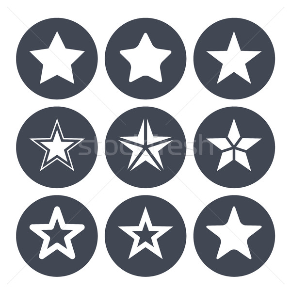 Simple star bar Photo stock © gomixer