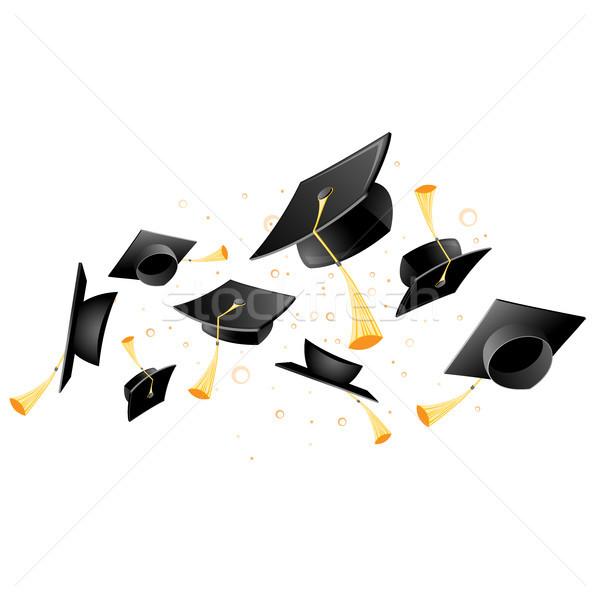 Pływające akademicki ukończeniu student Zdjęcia stock © gomixer