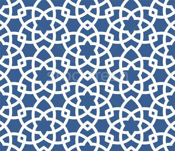 Arabic ornamental background - seamless Persian style pattern  Stock photo © gomixer
