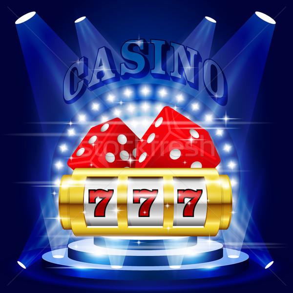 Grande ganar bote casino concierto Foto stock © gomixer