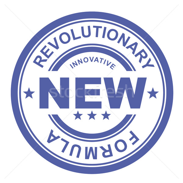 Revolutionary new formula - rubber stamp Stock photo © gomixer