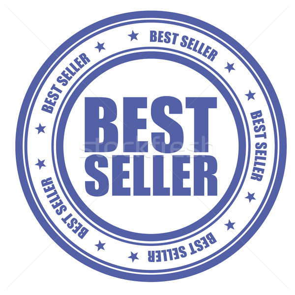 Blue stamp with words Bestseller Stock photo © gomixer