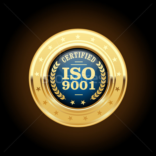 ISO 9001 standard medal - quality management  Stock photo © gomixer