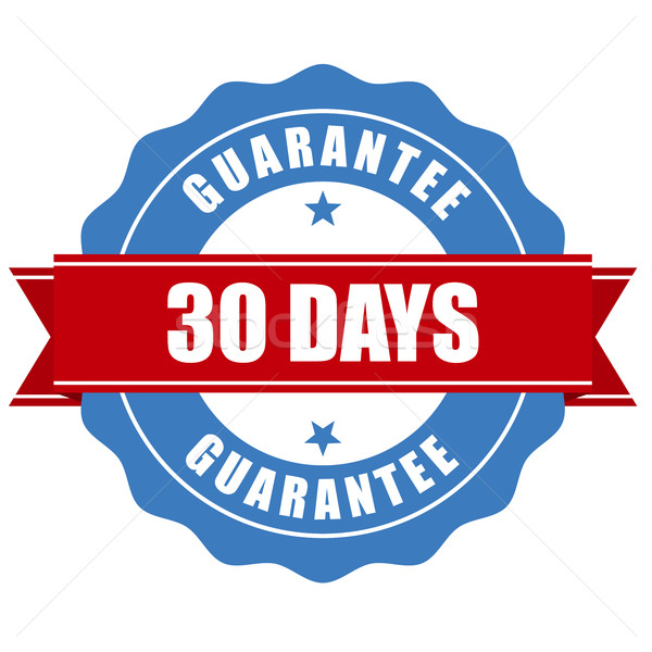 30 days guarantee stamp - warranty sign Stock photo © gomixer