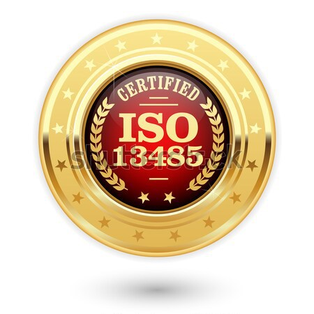Or iso certifié qualité norme Photo stock © gomixer