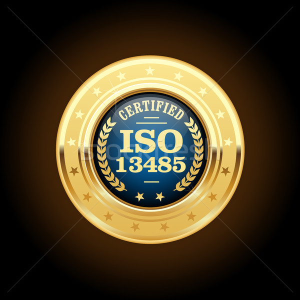 ISO 13485 standard medal - Medical devices Stock photo © gomixer