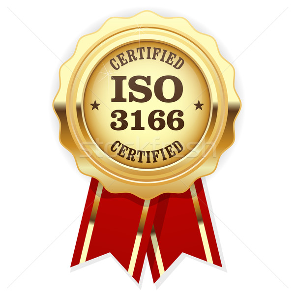 ISO 3166 standard rosette - Country codes Stock photo © gomixer