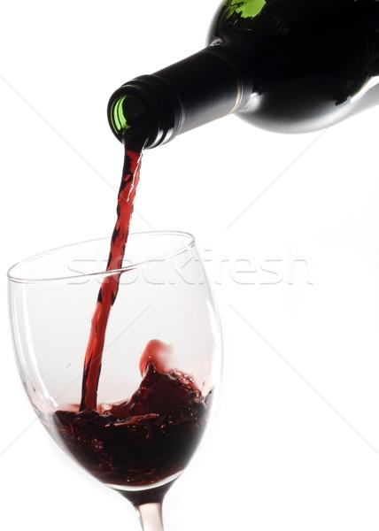 Pouring Red Wine Stock photo © Gordo25