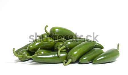 Jalapeno Peppers Stock photo © Gordo25
