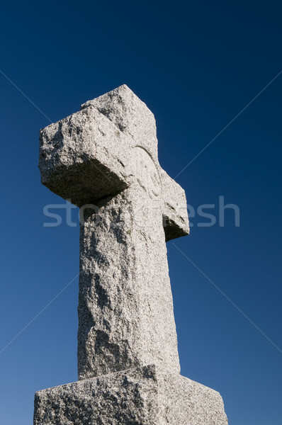 Stone Cross Stock photo © Gordo25