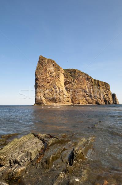 Perce Rock Scenic Stock photo © Gordo25