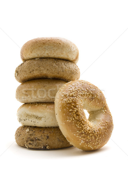 Healthly Lifestyle Bagels Stock photo © Gordo25